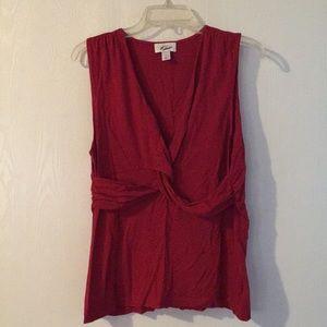 Ann Taylor LOFT shirt sleeved blouse